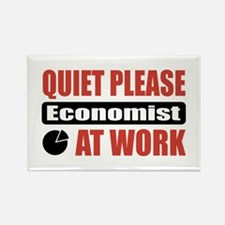 Economist Work Rectangle Magnet