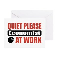 Economist Work Greeting Card