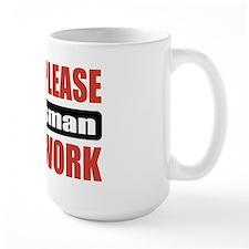 Draftsman Work Mug