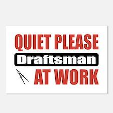 Draftsman Work Postcards (Package of 8)