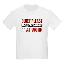 Dog Trainer Work T-Shirt