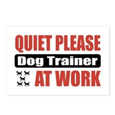 Dog Trainer Work Postcards (Package of 8)