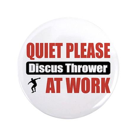 """Discus Thrower Work 3.5"""" Button"""