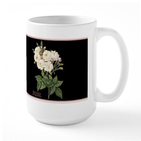 Blush Noisette Rose Large Mug