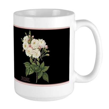 Blush Noisette Rose Large Mug