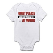 Crane Operator Work Infant Bodysuit