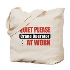 Crane Operator Work Tote Bag