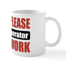 Crane Operator Work Mug