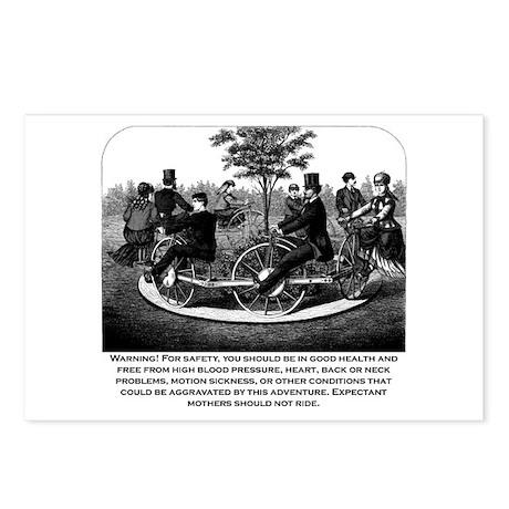 Roller Coaster Warning Postcards (Package of 8)