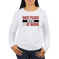 CPA Work T-Shirt