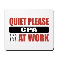 CPA Work Mousepad
