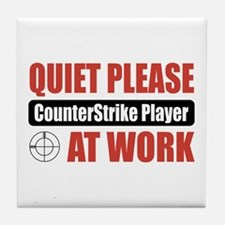 CounterStrike Player Work Tile Coaster