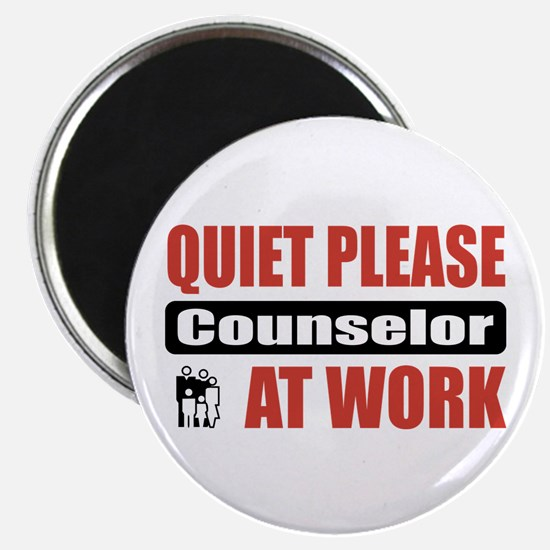 """Counselor Work 2.25"""" Magnet (10 pack)"""