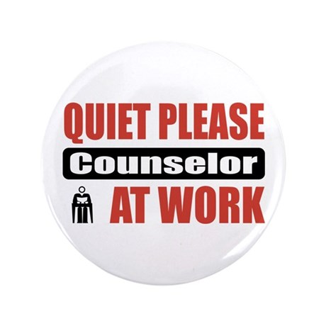 """Counselor Work 3.5"""" Button (100 pack)"""