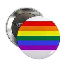 "Gay Pride Rainbow Flag T-Shir 2.25"" Button (10 pac"