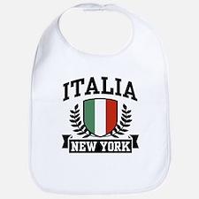 Italia New York Bib