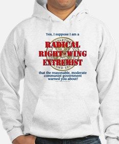 Right-Wing Extremist Hoodie