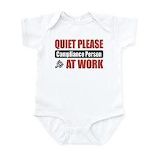 Compliance Person Work Infant Bodysuit