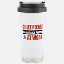 Compliance Person Work Travel Mug