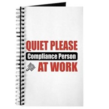 Compliance Person Work Journal
