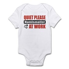 Numismatist Work Infant Bodysuit