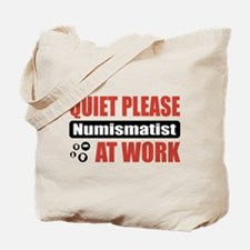 Numismatist Work Tote Bag