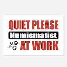 Numismatist Work Postcards (Package of 8)