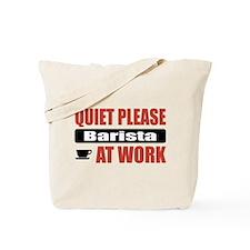 Barista Work Tote Bag