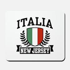 Italia New Jersey Mousepad