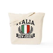 Italia New Jersey Tote Bag