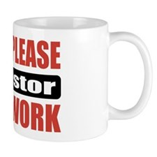 Adjustor Work Mug