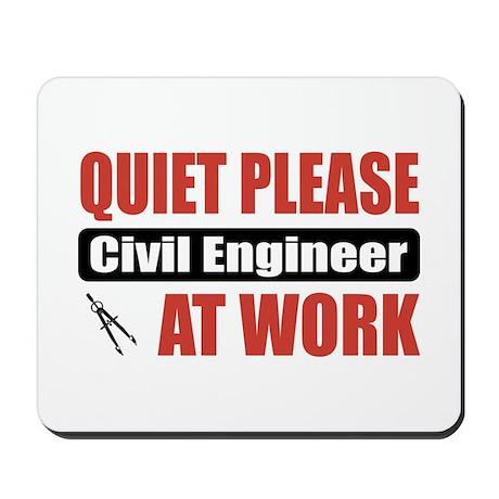 Civil Engineer Work Mousepad