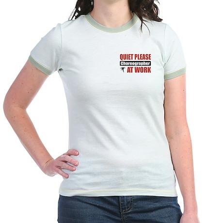 Choreographer Work Jr. Ringer T-Shirt