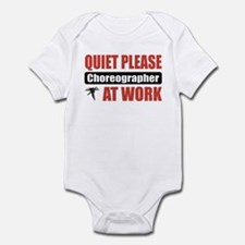 Choreographer Work Infant Bodysuit