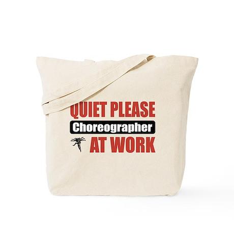 Choreographer Work Tote Bag