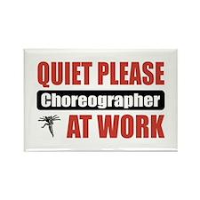 Choreographer Work Rectangle Magnet