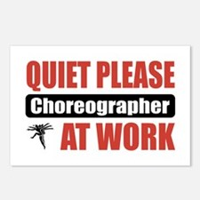 Choreographer Work Postcards (Package of 8)