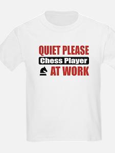 Chess Player Work T-Shirt