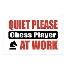 Chess Player Work Postcards (Package of 8)