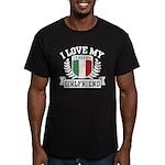 I Love My Italian Girlfriend Men's Fitted T-Shirt