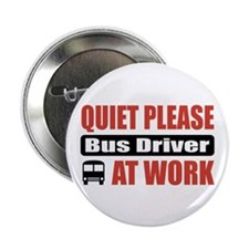 """Bus Driver Work 2.25"""" Button (100 pack)"""