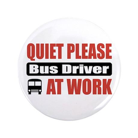 "Bus Driver Work 3.5"" Button"