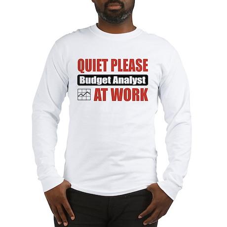 Budget Analyst Work Long Sleeve T-Shirt