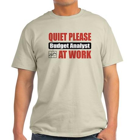 Budget Analyst Work Light T-Shirt