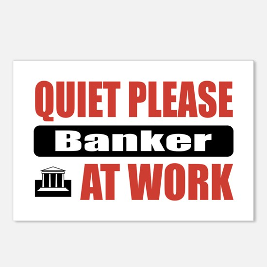 Banker Work Postcards (Package of 8)
