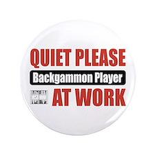 "Backgammon Player Work 3.5"" Button (100 pack)"