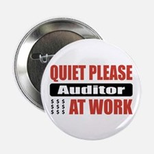 """Auditor Work 2.25"""" Button (10 pack)"""