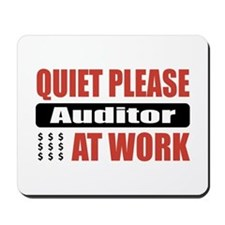 Auditor Work Mousepad