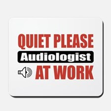 Audiologist Work Mousepad