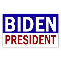 Joe Biden President (bumper sticker)